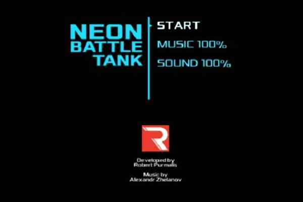 Play Neon Battle Tank