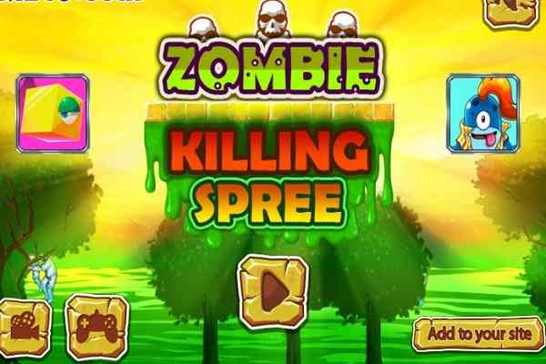 Play Zombie Killing Spree