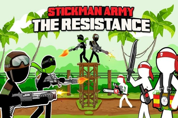 Play Stickman Army  The Resistance