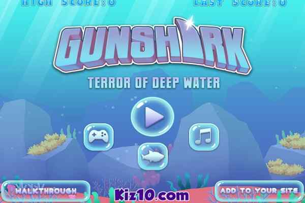 Play Gun Shark Terror of Deep Water