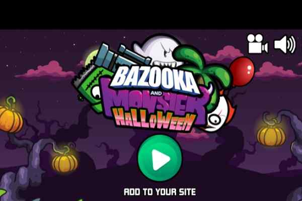 Play Bazooka and Monster 2 Halloween
