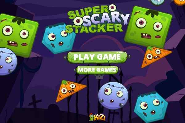 Play Super Scary Stacker