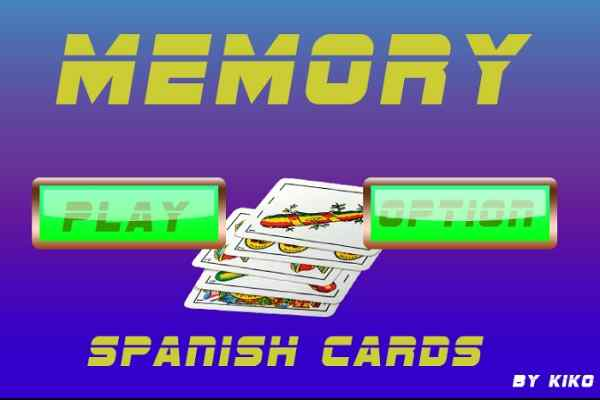Play Spanish card