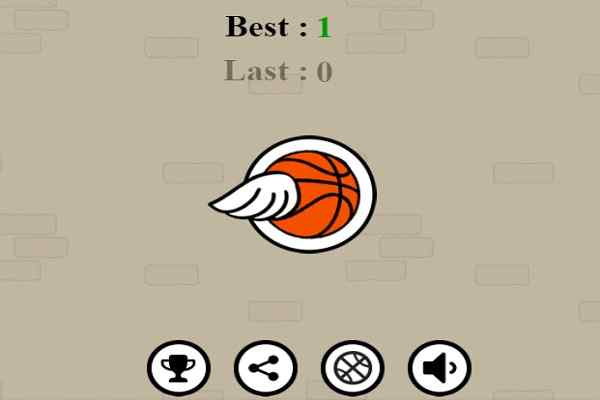 Play Flappy Dunk