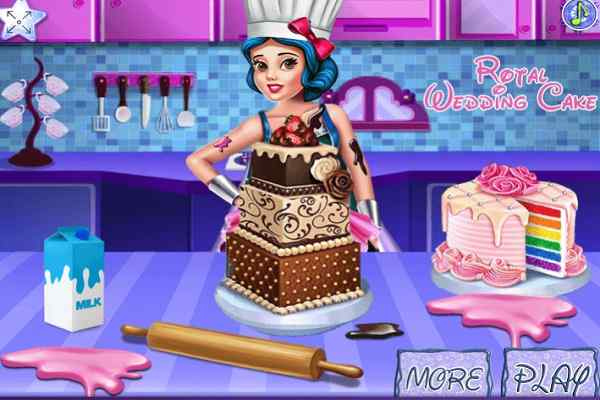 Play Royal Wedding Cake