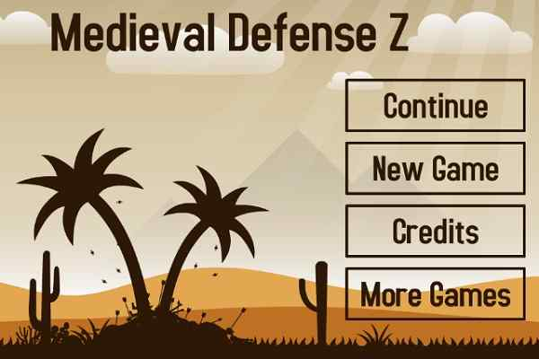 Play Medieval Defense Z