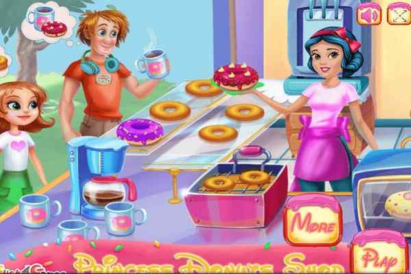 Play Princess Donuts Shop 2