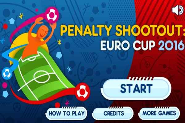 Play Penalty Shootout Euro Cup 2016