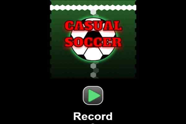 Play Casual Soccer