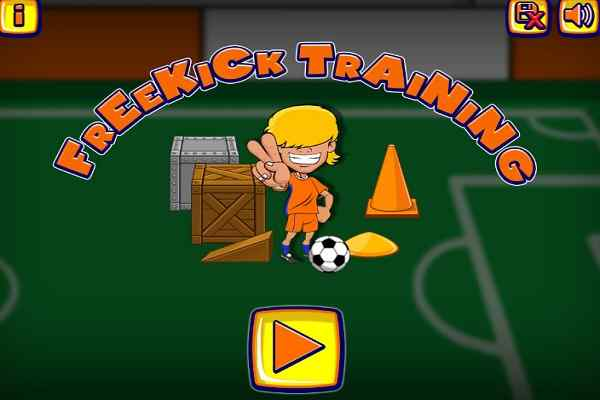 Play Freekick Training