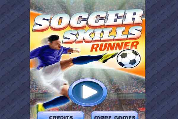 Play Soccer Skills Runner
