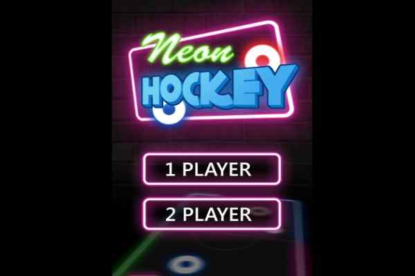 Play Neon Hockey