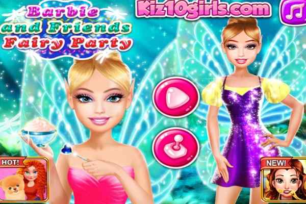 Play Barbara and Friends Fairy Party