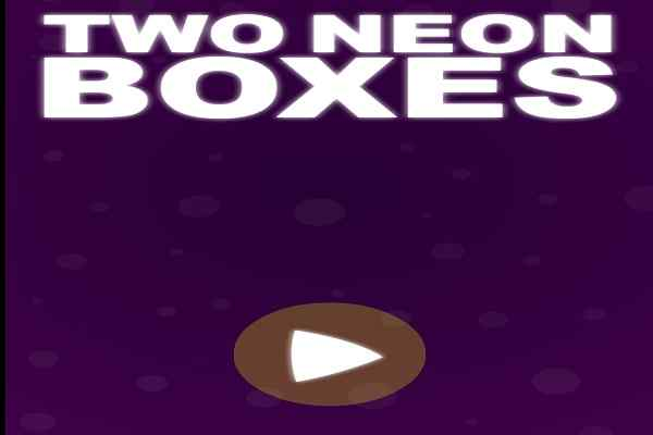 Play Two Neon Boxes
