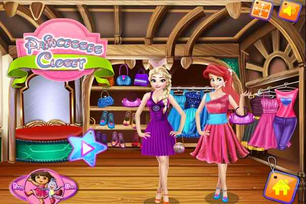 Play Princesses Closet
