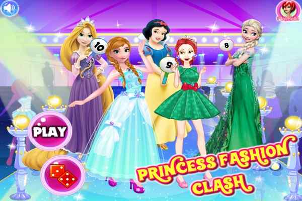 Play Princesses Fashion Clash