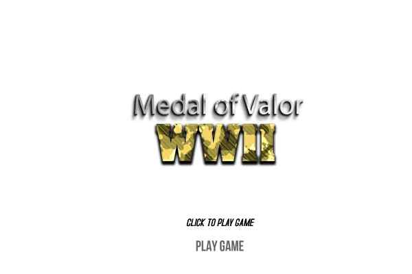 Play WWII  Medal of Valor