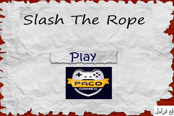 Play Slash The Rope
