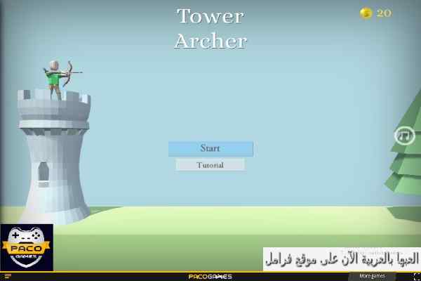 Play Tower Archer