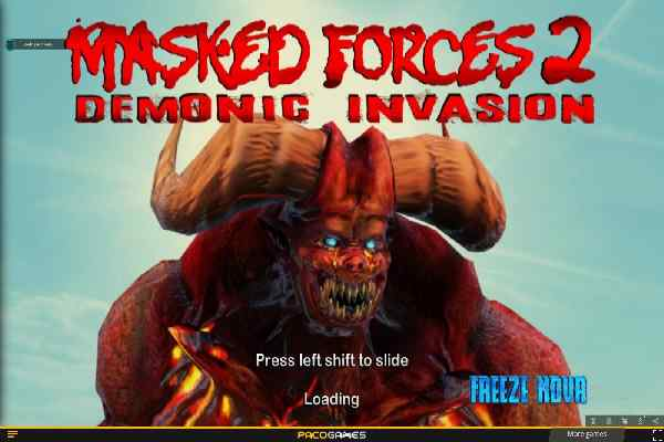 Play Masked Forces 2 Invasion
