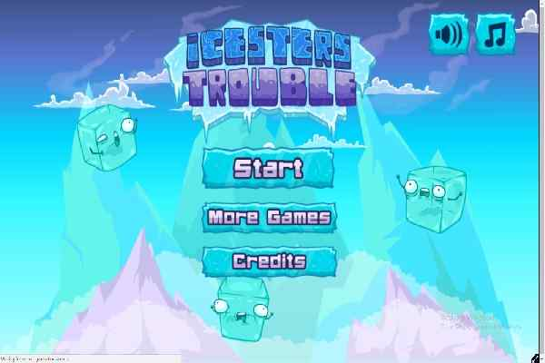 Play Icesters Trouble