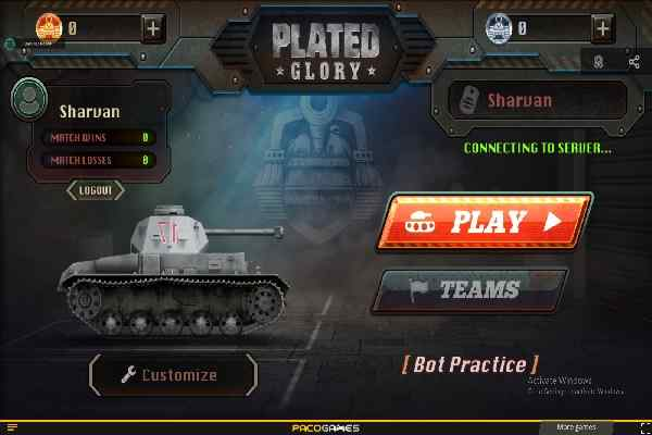 Play Plated Glory