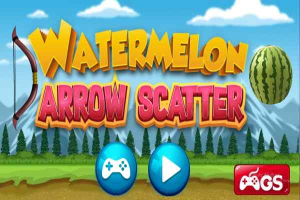 Play Watermelon Arrow Scatter