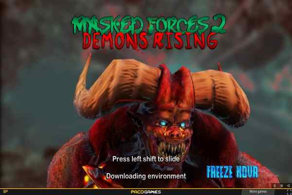 Play Masked Forces 2 Demons Rising