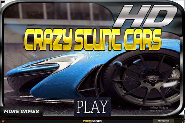 Play Crazy Stunt Cars
