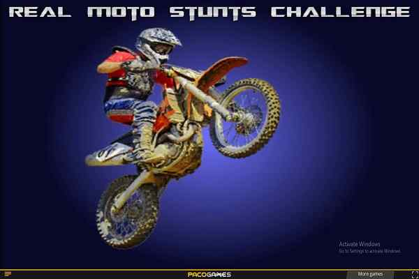 Play Real Moto Stunts Challenge