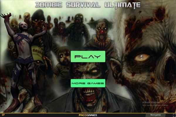 Play Zombie Survival Ultimate