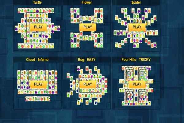 Play Blue Mahjong HD
