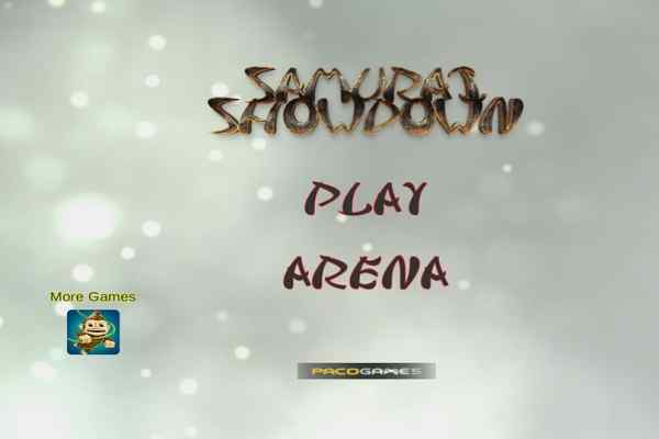 Play Samurai Showdown