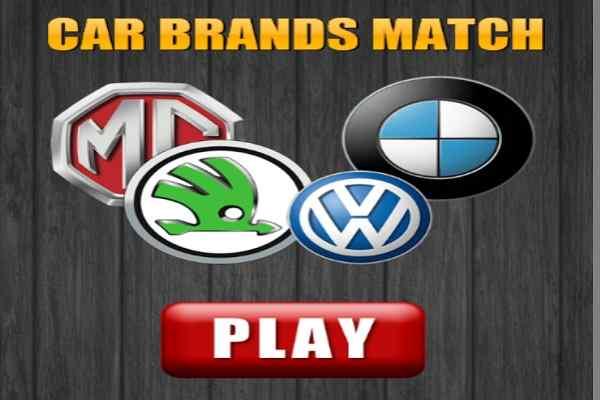 Play Car Brands Match