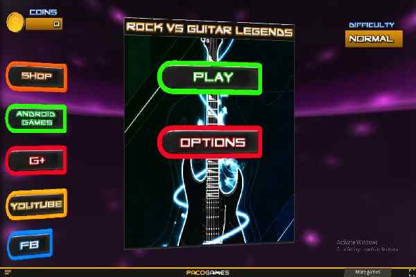 Play Rock vs Guitar Legends