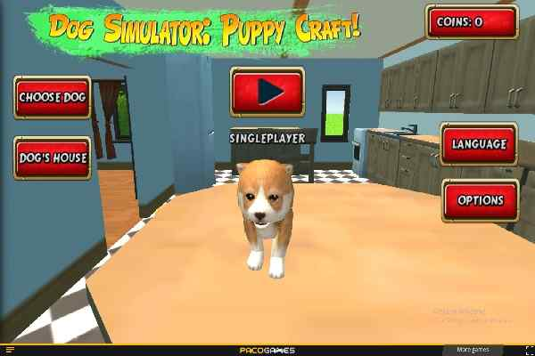Play Dog Simulator Puppy Craft