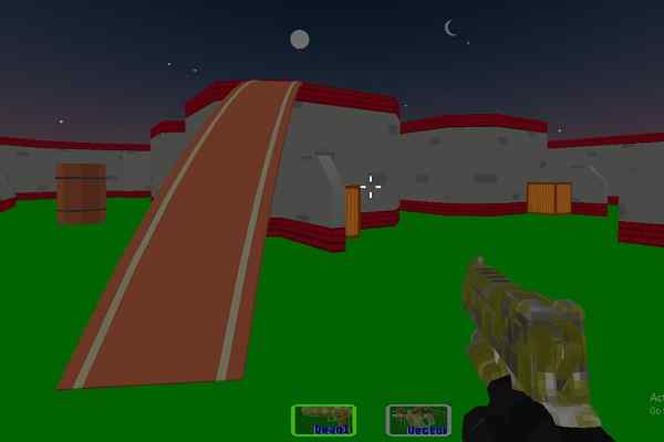 Play Combat Pixel SWAT Zombies
