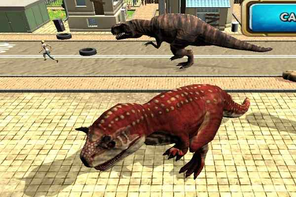 Play Dinosaur Simulator 2 Dino City