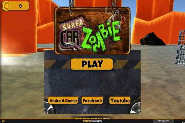 Play RoadKill Car Zombie Dead Hit