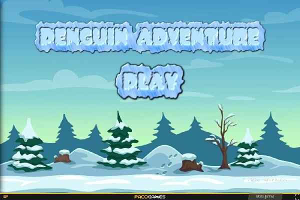 Play Super Penguin Infinite Run 2D