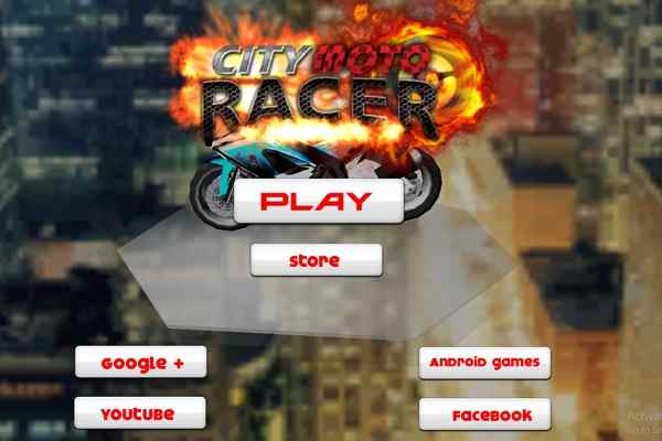 Play City Moto Racer  Nitro