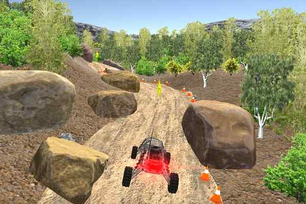 Play 4x4 Truck Car Hill Race 3D