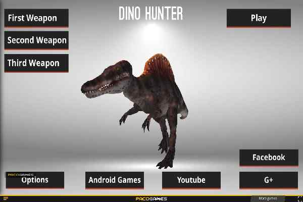 Play Dinosaur Hunter Dino City