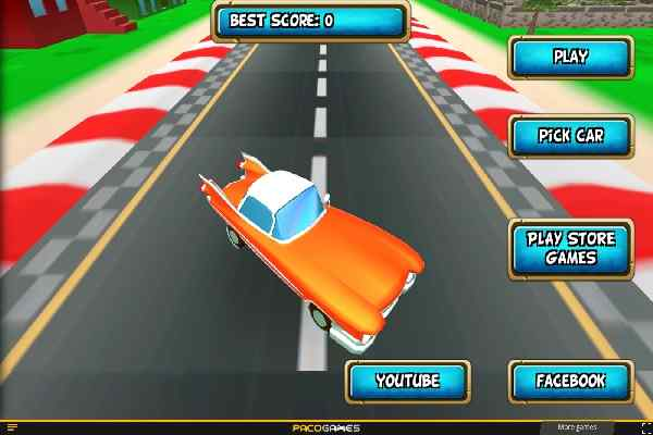 Play Cartoon Car Crash Derby Destruction World