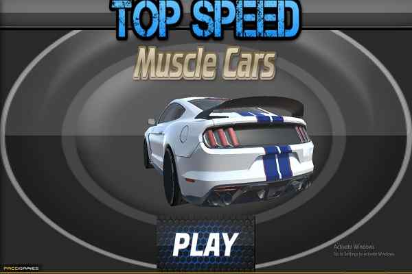 Play Top Speed Muscle Car