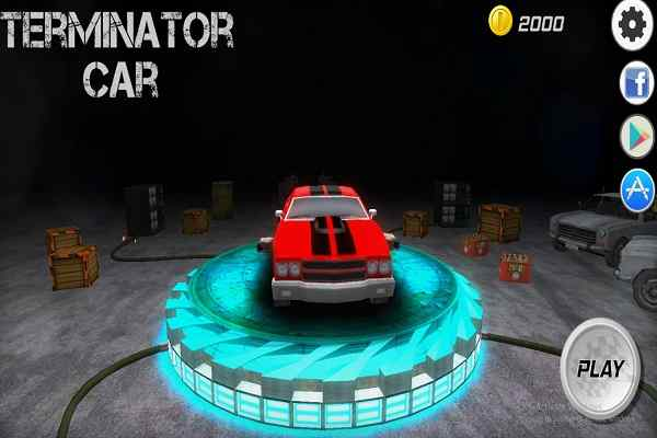 Play Terminator Car