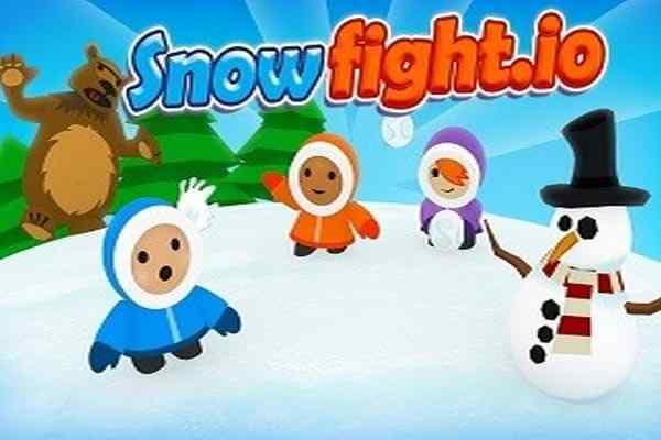 Play Snowfight.Io