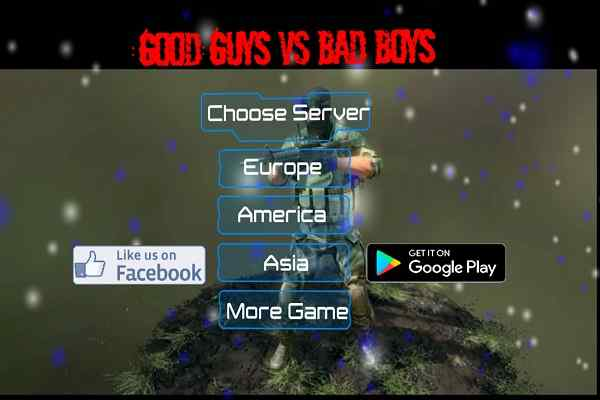 Play Good Guys vs Bad Boys