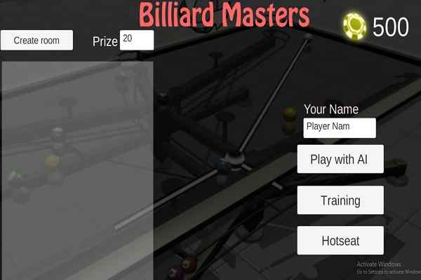Play Billiard Masters
