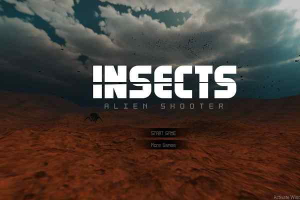 Play Insects Alien Shooter